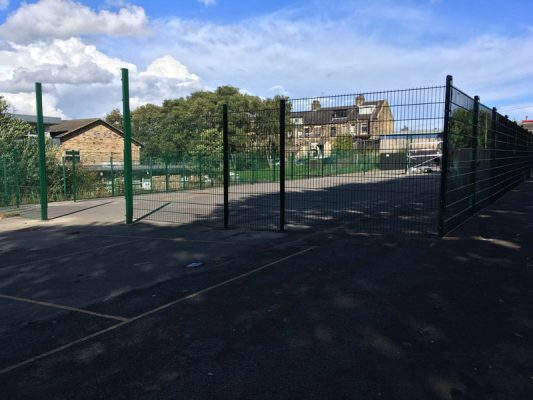 leisure centre fencing