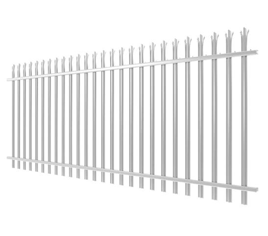 steel palisade fencing image