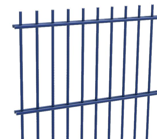 blue mesh fencing image