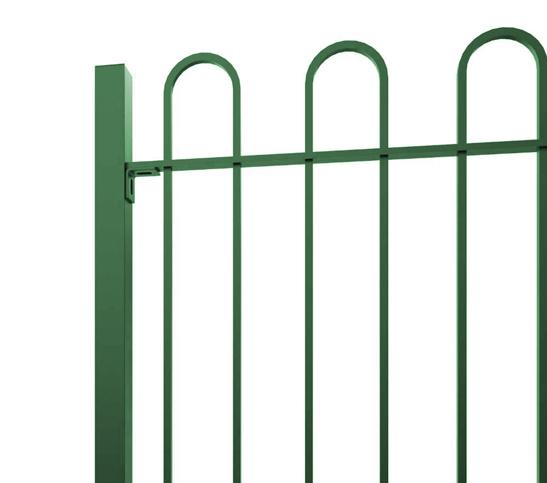 green-bow-top-railings-image