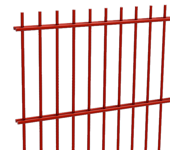 red mesh fencing image